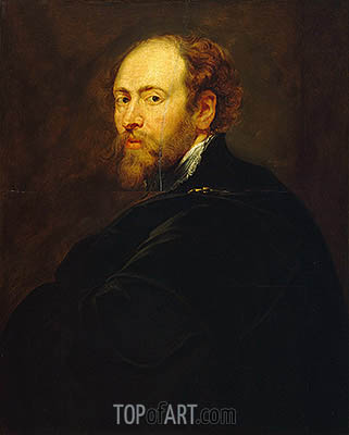 Self Portrait, c.1615 | Rubens| Painting Reproduction