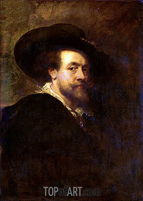 Self Portrait, c.1623/25 | Rubens | Gemälde Reproduktion