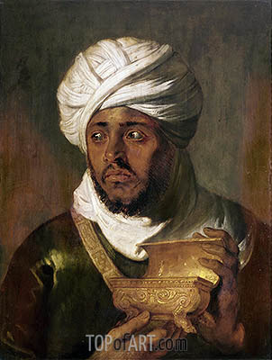 Moorish King (Melchior), c.1618/19 | Rubens| Painting Reproduction