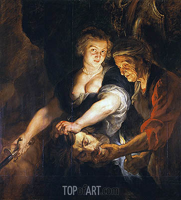 Judith with the Head of Holofernes, c.1616 | Rubens| Painting Reproduction