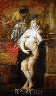 Deianeira Tempted by Fama, c.1638 | Rubens | Painting Reproduction