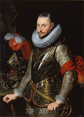 Marquis Ambrogio Spinola, c.1630 | Rubens| Painting Reproduction