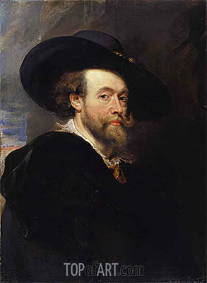 Portrait of the Artist, 1623 | Rubens| Painting Reproduction