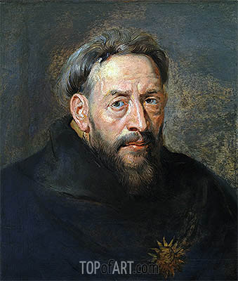 Portrait of a Monk, undated | Rubens| Gemälde Reproduktion