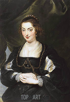 Portrait of a Young Woman, c.1620/30 | Rubens | Painting Reproduction