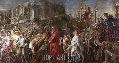 A Roman Triumph, c.1630 | Rubens | Painting Reproduction