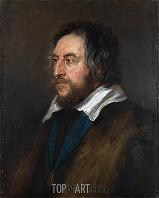 Portrait of Thomas Howard, 2nd Earl of Arundel, c.1629/30 | Rubens | Painting Reproduction