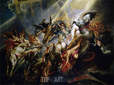 The Fall of Phaeton, c.1604/05 | Rubens| Painting Reproduction