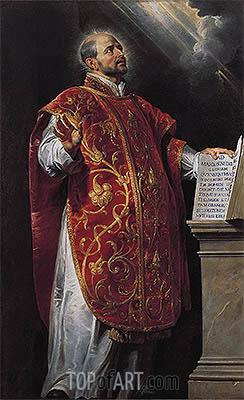 Saint Ignatius of Loyola, c.1620/22 | Rubens | Painting Reproduction