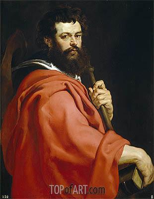 Saint James the Elder, c.1611   Rubens   Painting Reproduction