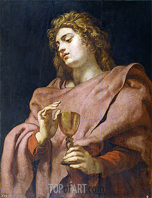 Rubens | Saint John the Evangelist, c.1611