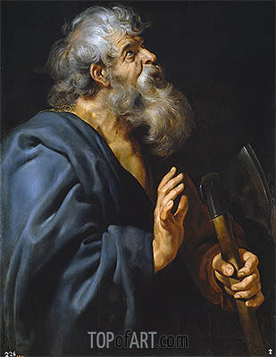 Rubens | Saint Mathias, c.1611