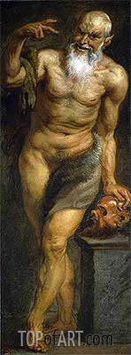 Rubens | Silenus or a Faun, c.1636/38