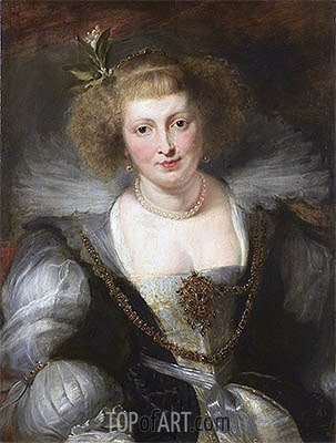 Helena Fourment, undated | Rubens | Painting Reproduction