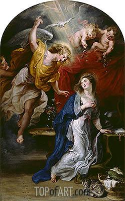 Rubens | The Annunciation, undated