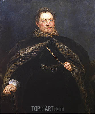 Portrait of Jan van Montfort, c.1635 | Rubens| Painting Reproduction