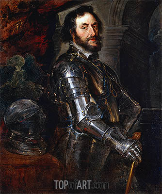 Portrait of Thomas Howard, Earl of Arundel, c.1629/30 | Rubens| Painting Reproduction