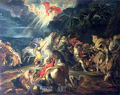 The Conversion of St. Paul, c.1610/12 | Rubens| Painting Reproduction