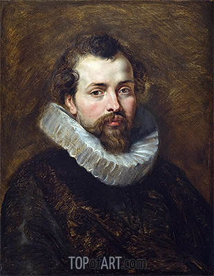 Philippe Rubens (Artist's Brother), c.1610/11 | Rubens | Painting Reproduction