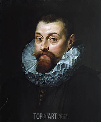 Portrait of a Man, c.1597/99 | Rubens| Painting Reproduction