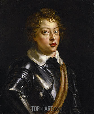 Vincenzo II Gonzaga, Duke of Mantua, c.1604/05 | Rubens | Painting Reproduction