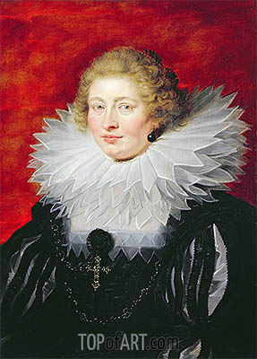 Portrait of Madame de Vicq, 1625 | Rubens| Painting Reproduction