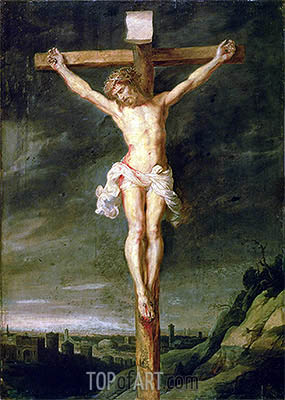 The Crucifixion, undated | Rubens| Painting Reproduction