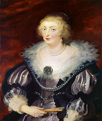 Catherine Manners, Duchess of Buckingham, c.1625 | Rubens| Painting Reproduction