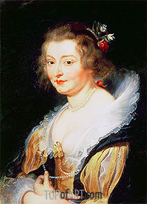Portrait of Catherine Manners, Duchess of Buckingham, c.1625/30 | Rubens | Painting Reproduction