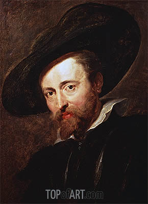 Self Portrait, undated | Rubens | Painting Reproduction