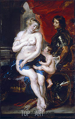 Rubens | Venus, Mars and Cupid, undated