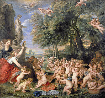 Rubens | Worship of Venus, undated