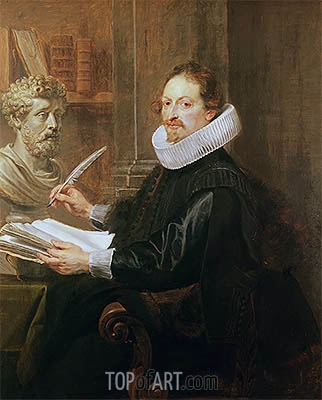 Jan Gaspar Gevartius, c.1628 | Rubens | Painting Reproduction