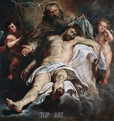 Rubens | The Holy Trinity, undated