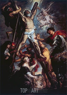 Rubens | The Martyrdom of St. Andrew, 1637