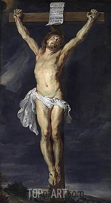 Christ Crucified, undated | Rubens| Painting Reproduction