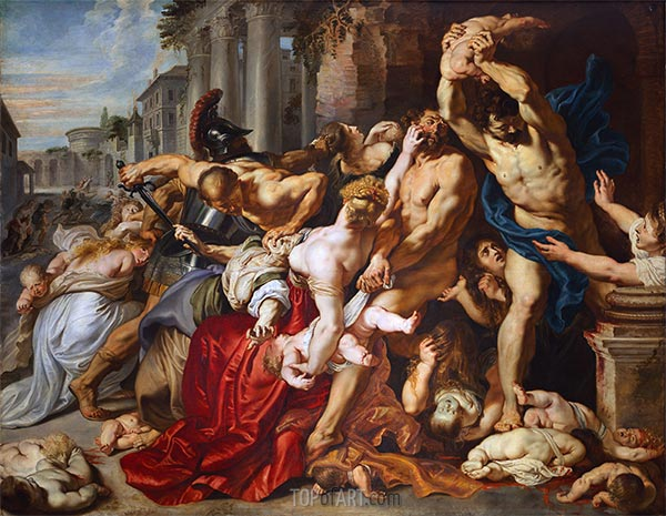 The Massacre of the Innocents, c.1610/12 | Rubens | Painting Reproduction