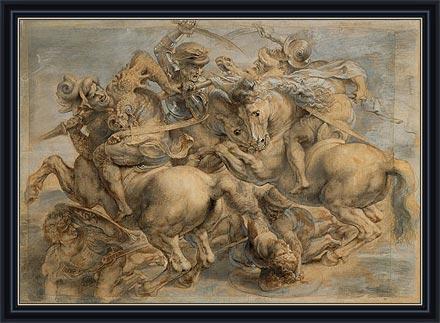Battle of Anghiari, undated | Rubens | Painting Reproduction
