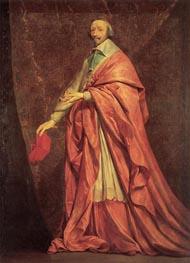 Portrait of Cardinal Richelieu, c.1639 by Philippe de Champaigne | Painting Reproduction