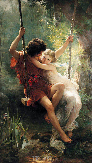 Springtime, 1873 | Pierre-Auguste Cot | Painting Reproduction