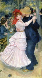 Dance at Bougival, 1883 by Renoir | Painting Reproduction