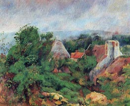 La Roche-Guyon, 1885 von Renoir | Gemälde-Reproduktion