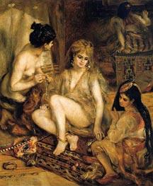 Der Harem (Pariser Frauen, gekleidet wie Algerier) | Renoir | Gemälde Reproduktion