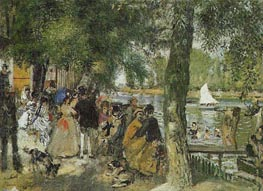 La Grenouillere | Renoir | outdated