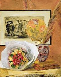 Stillleben mit Blumenstrauß und Fan | Renoir | veraltet