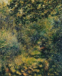 Path in the Forest, c.1874 von Renoir | Gemälde-Reproduktion