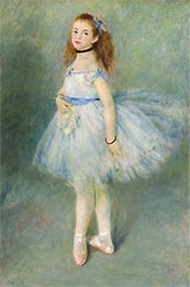 The Dancer, 1874 von Renoir | Gemälde-Reproduktion