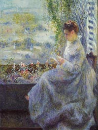 Madame Chocquet Reading | Renoir | veraltet