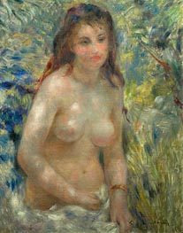 Nude Torso in the Sunlight (Torso of Anna), c.1875/76 von Renoir | Gemälde-Reproduktion