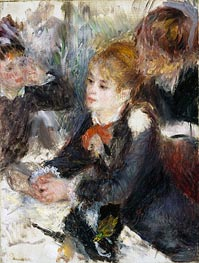 At the Milliner's, c.1878 by Renoir | Painting Reproduction
